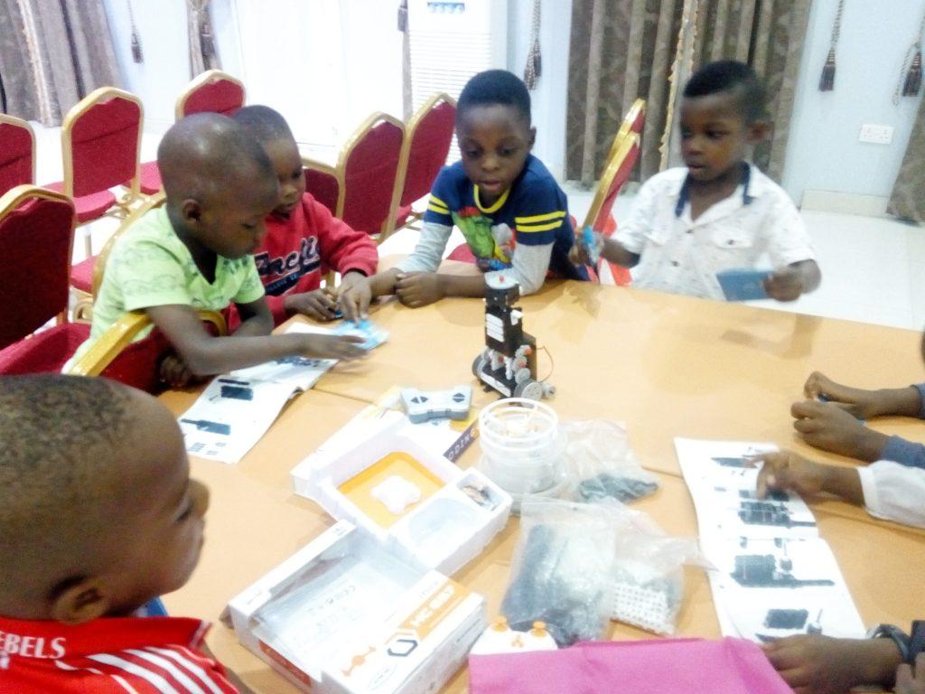 2019 Robotics4Kids Summer Class